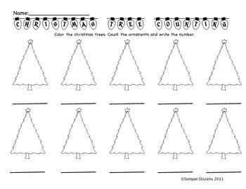 Christmas Tree Counting
