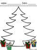 Free Christmas Tree Counting Lesson