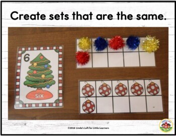 Christmas Tree Counting Activities and Clip Cards 0-10