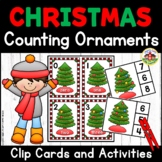 Christmas Tree Counting  Activities for Preschool