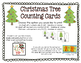 Christmas Tree Counting Cards - Numbers 0-20