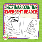 Christmas Activity   Christmas Tree Counting Emergent Reader