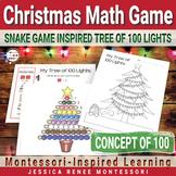 Montessori Christmas Counting Game