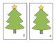 Christmas - Tree - Counting Mats #1-10