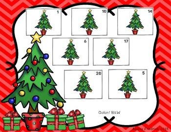 Christmas Tree Counting Mats