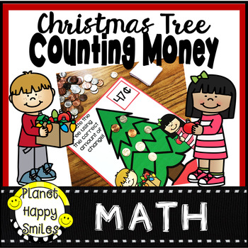 Christmas Tree Counting Money Station