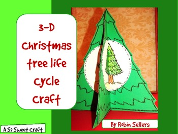 Christmas Tree Craft: {3-D Life Cycle of a Conifer Craftivity}