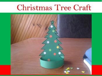 Christmas Tree Craft - Free