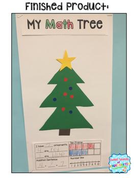 Christmas Tree Craft {Math Tree Craft}