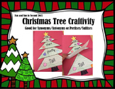 Christmas Tree Craftivity
