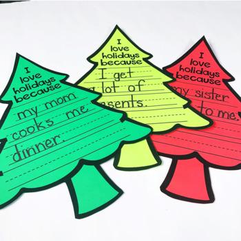 Christmas Writing Craft