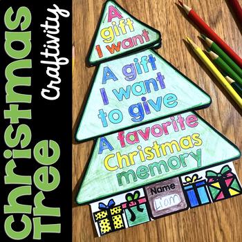 Christmas Tree Craftivity Flap Book
