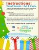 ❅ Christmas Tree Cut & Paste - Vowel Sounds ❅