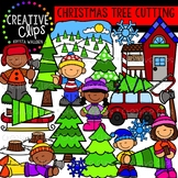 Christmas Tree Cutting: Christmas Clipart {Creative Clips Clipart}