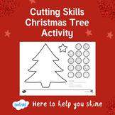 Christmas Tree Cutting Skills Activity