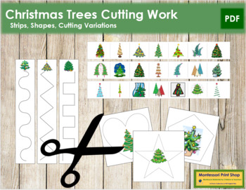 Christmas Tree Cutting Strips