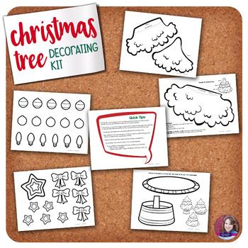 Christmas Tree Decorating Activity Kit