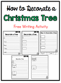 How to Decorate a Christmas Tree: Writing Prompt