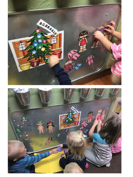 Christmas Tree Decorating - Magnet Activity