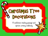 Christmas Nonfiction Reading Passage Christmas Tree Decorations