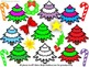 Christmas Tree & Decorations  Clip Art