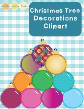 Christmas Tree Decorations Clipart
