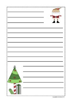 Christmas Tree Descriptive Writing Craftivity