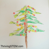 Christmas Tree Doubles Addition for Kindergarten