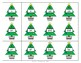 Christmas Tree  EDITABLE Sight Word Memory- December Literacy Center - EASY PREP