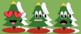 Christmas Tree Emoji and Present Clipart Set!