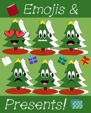Christmas Tree Emoji and Present Clipart Set!