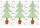 Christmas Tree Equation Bookmarks