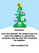 Christmas Tree Equations - Addition/Subtraction