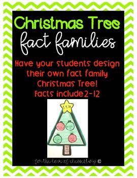 Christmas Tree Fact Families