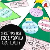 Christmas Tree Fact Family Craftivity
