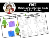 FREE Christmas Tree Number Bonds with Fact Families