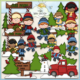 Christmas Tree Farm Clip Art - Christmas Clip Art - CU Cli