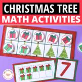 Christmas Tree Math: Christmas Ten Frame Fun