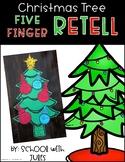 Christmas Tree Five Finger Retell