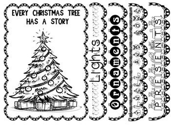Christmas Tree Flip Book