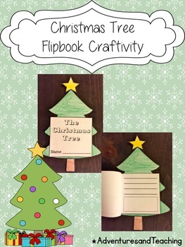 Christmas Tree Flipbook Craftivity