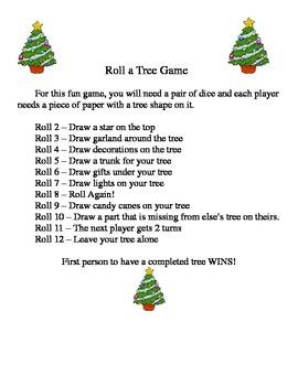 Christmas Tree Game