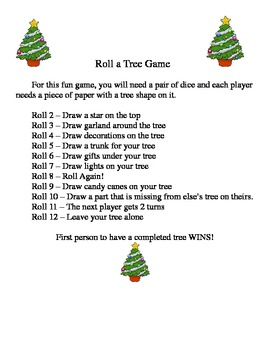 Christmas Tree Game