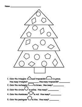 Christmas Tree Geometry