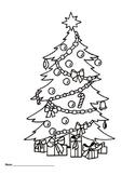 Christmas Tree Glyph 1-3