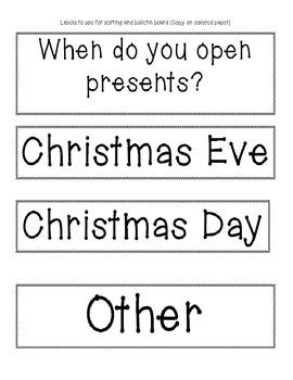 Christmas Tree Glyph Common Core Data Activities