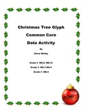 Christmas Tree Glyph Common Core Data Activities