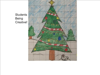 Original on christmas coordinate plane worksheets
