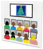 Christmas Tree Graphic (Computer Lab Activity Using Paint)