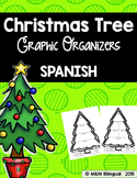 Christmas Tree Graphic Organizers {SPANISH}
